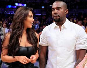 Kim Kardashian embarazada del rapero Kanye West