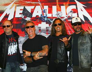 El m�sico Lars Ulrich, baterista, compositor y cofundador de la banda Metallica, dijo que la agrupac