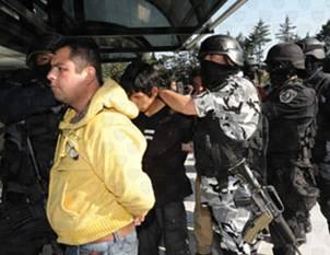 Los detenidos se encuentran relacionados en su presunta responsabilidad con delitos de alto impacto