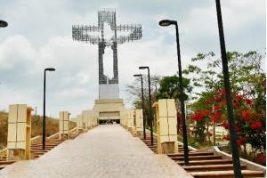 El monumento de 62 metros de altura se encuentra en el ejido Copoya de Tuxtla Guti�rrez