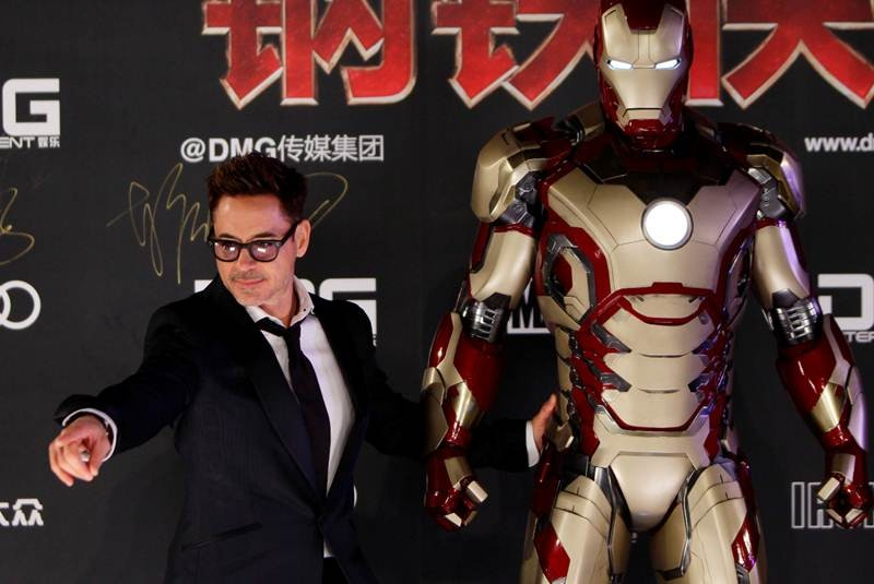 Robert downey jr conquista china con iron man 3