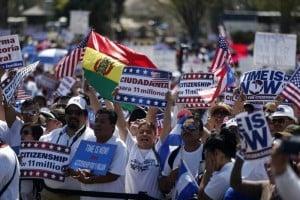 Concentraciones en el Capitolio por reforma migratoria