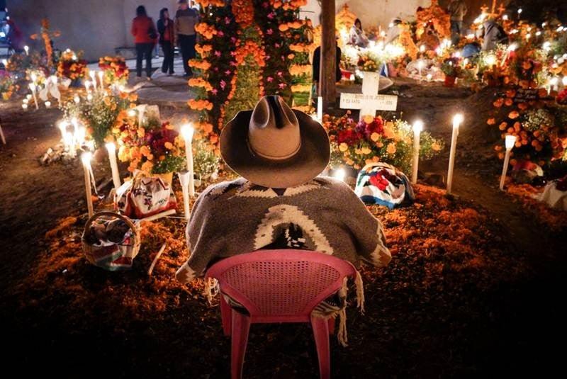 Celebración de Día de Muertos en Michoacán