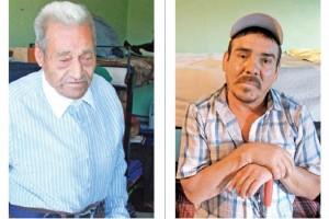 Francisco (izq.), cumpli� m�s de 50 a�os en prisi�n; Arturo (der.) ha estado en tres penales