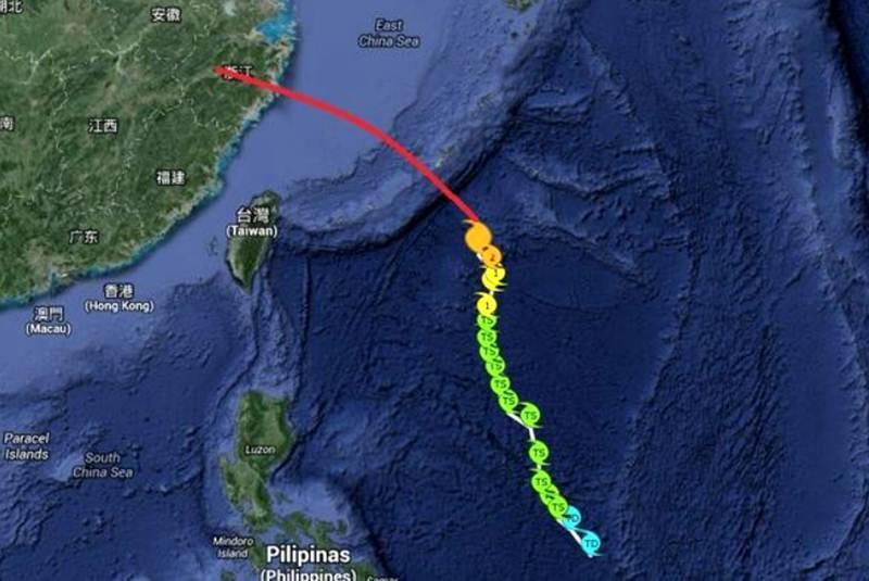 China, en alerta naranja ante la llegada del tifón <i>Fitow</i