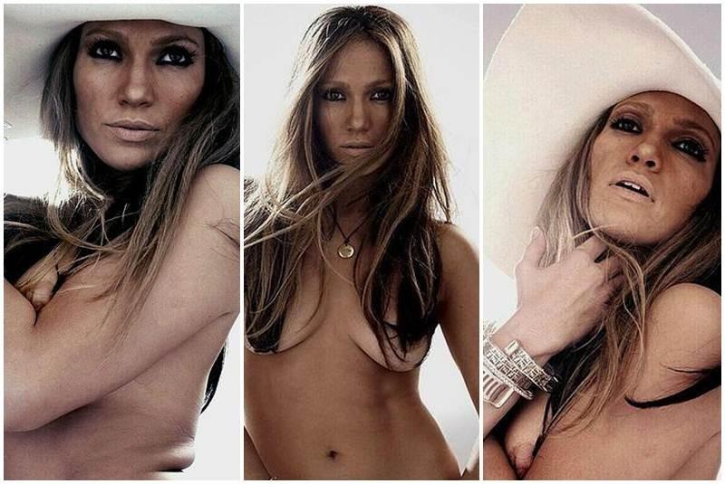 Jennifer Lopez Desnuda Y Sin Shop