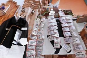 El domingo 3 de noviembre, el obispo Pati�o inst� a sus feligreses -durante el serm�n- a que perdier