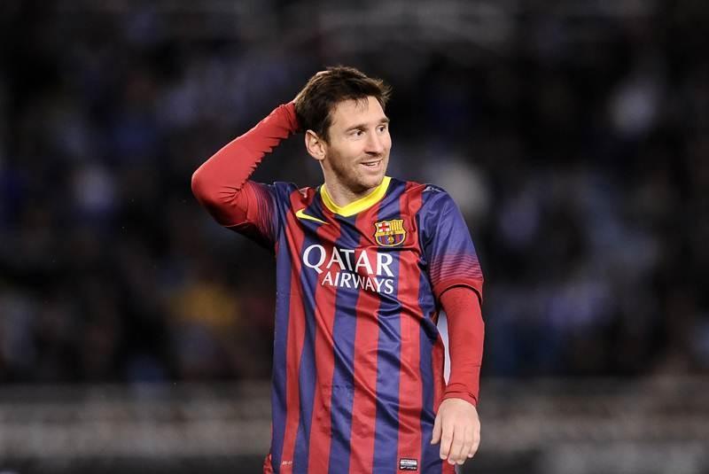 Un nuevo récord de Leo Messi