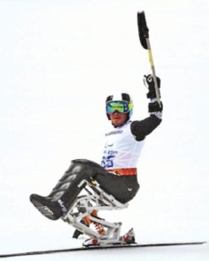 <b> Sochi 2014. </b> Arly Vel�squez falla, esta vez en el slalom