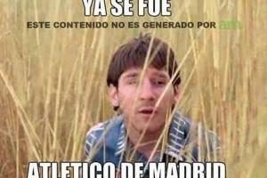 Lionel Messi fue la presa principal en los memes contra el Barcelona