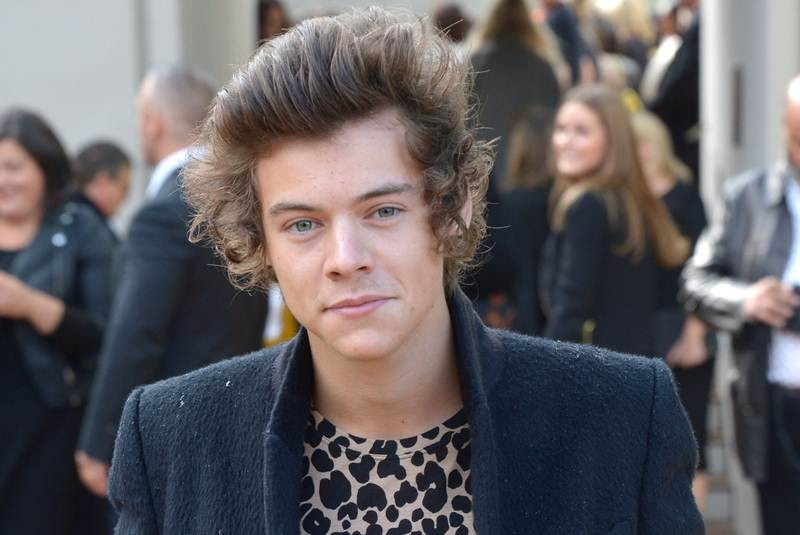 Harry styles pimples back