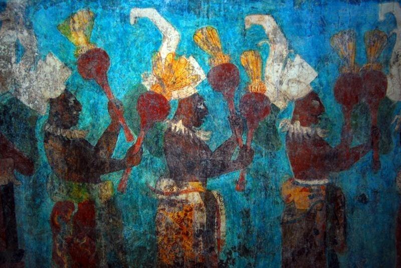 El universal cultura herencia ancestral de bonampak se for El mural de bonampak