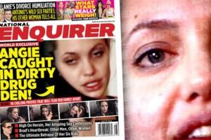 El Universal - Espectáculos - Publican imágenes de Jolie drogada