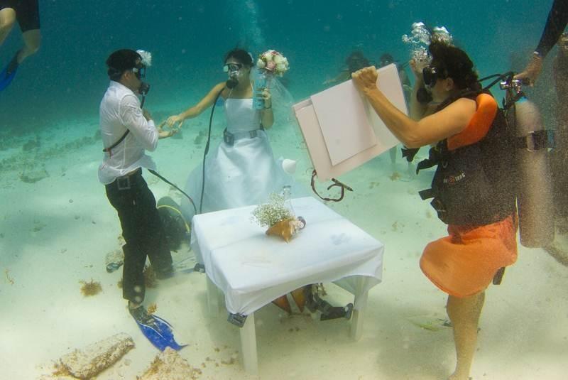 El Universal , Los Estados , Cancún, ahora un destino de bodas subacuáticas