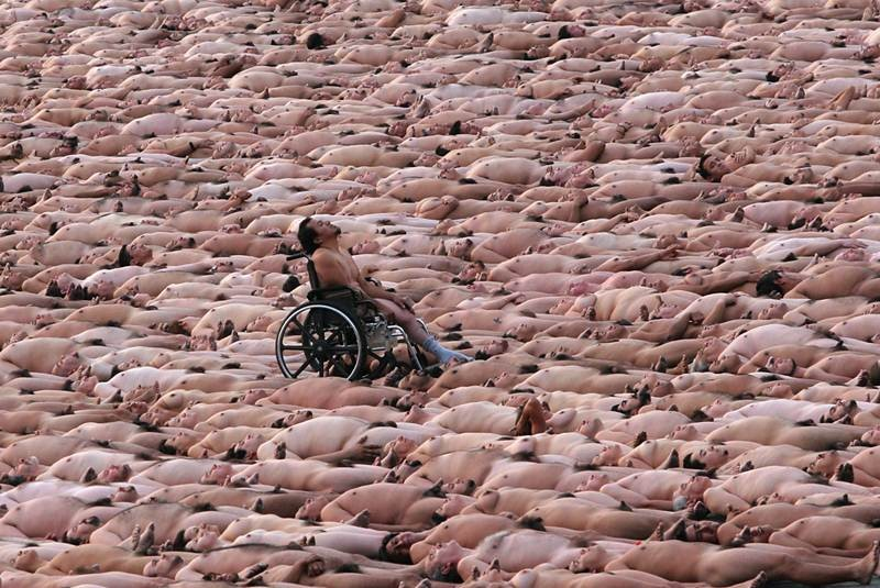 Spencer Tunick volverá para desnudar mexicanas - El Universal