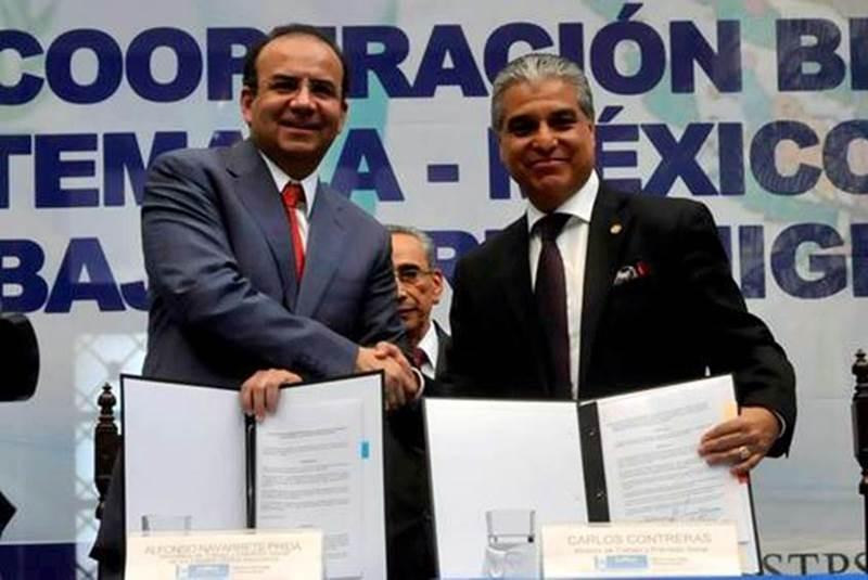 Protegerán Mexico y Guatemala a migrantes trabajadores