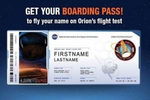 NASA invita a enviar tu nombre a Marte