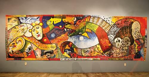 El universal cultura reos crean arte guiados por for Arte colectivo mural