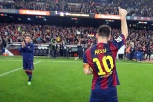 Messi, a un gol de romper otro récord