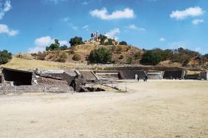 La Gran Pirámide de Cholula, delicada de salud