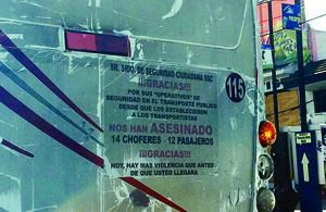 No cesan asaltos violentos al transporte de pasajeros - El Universal
