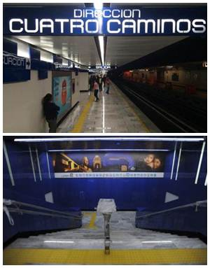 Acceso norte de Metro Revolución estrena