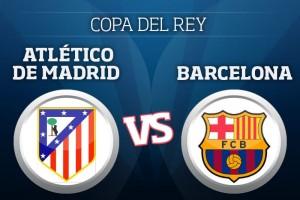 Así se vivió Atlético de Madrid 2-3 Barcelona