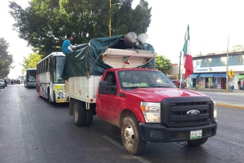 Caravana por la Justicia parte de Oaxaca rumbo a Puebla - El Universal