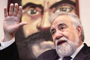 En el marco de su segundo informe legislativo de labores de hoy, Alejandro Encinas Rodr�guez argumen