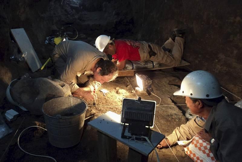 Hallan mercurio líquido en las entrañas de Teotihuacan