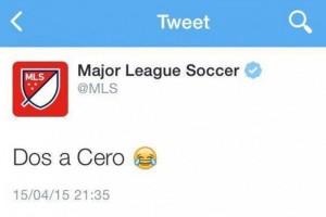 La MLS se burla de la Selección de México en Twitter