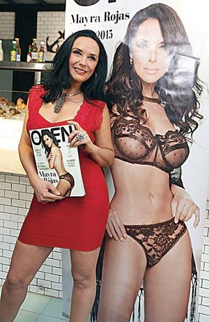 Mayra Rojas, con ánimo de resurgir, a sus 50