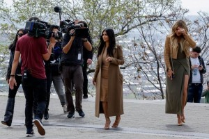 Kim Kardashian se reúne con primer ministro de Armenia
