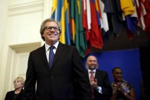 Promete Almagro buscar integración de Cuba en la OEA