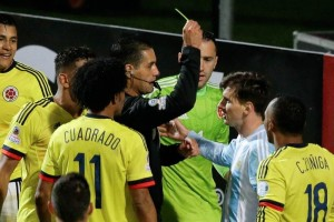 Copa América Árbitro mexicano a Messi: #34;Esto es América#34;