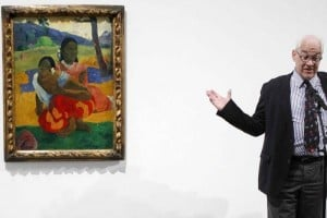 #39;Nafea faa ipoipo#39;, la obra más cara, visita el Reina Sofía