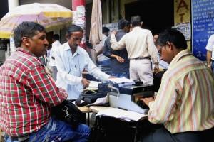 Máquinas de escribir persisten en India