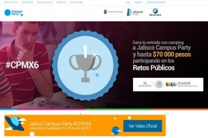 Datos, presentes en el Campus Party México 2015